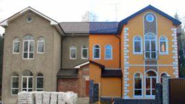 Восстановление фасадов