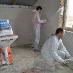 Машинная штукатурка стен в Одессе
